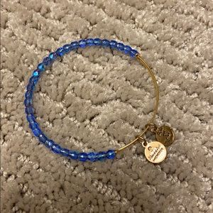 gold Alex and ani bangle!!